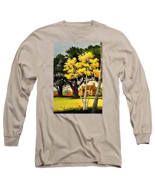Yellow Birches Long Sleeve T-Shirt