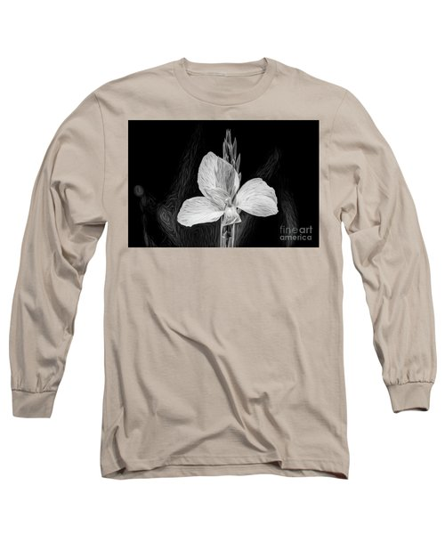 Yellow Black And White Long Sleeve T-Shirt