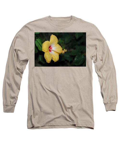 Yellow Bloom Long Sleeve T-Shirt