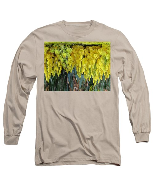Yellow Buds Long Sleeve T-Shirt by Tim Allen