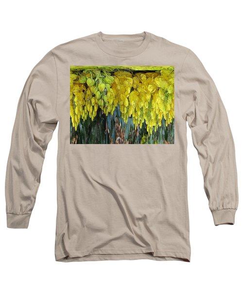 Yellow Buds Long Sleeve T-Shirt
