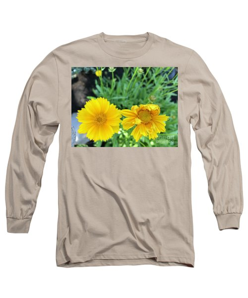 Yellow Coreopis Long Sleeve T-Shirt