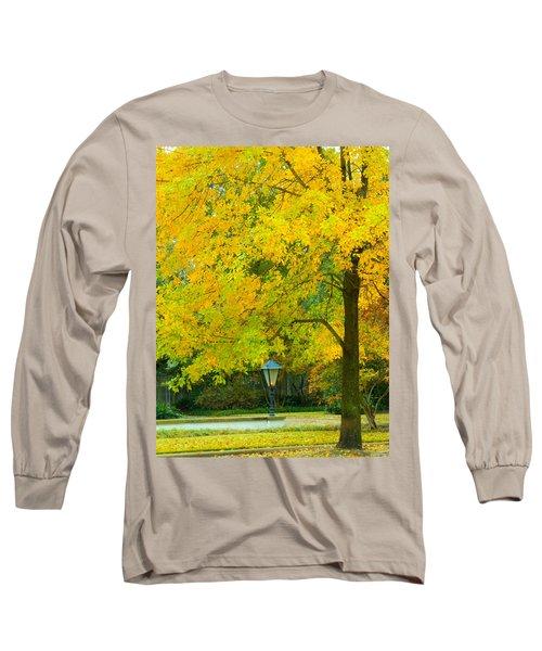 Yellow Drapes Long Sleeve T-Shirt