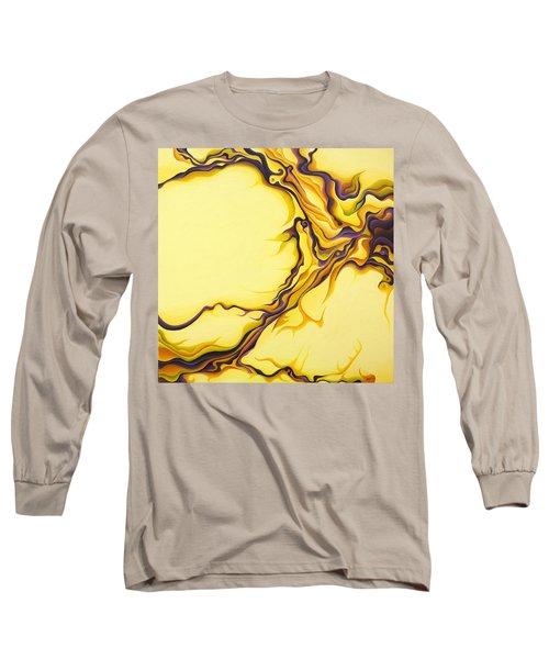 Yellow Flow Long Sleeve T-Shirt