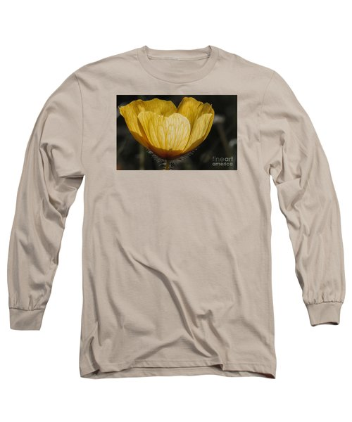 Yellow Flower 4 Long Sleeve T-Shirt
