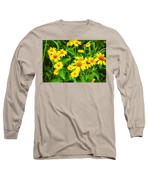 Yellow Flowers No. 2 Long Sleeve T-Shirt