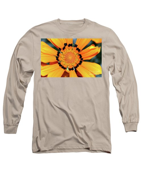 Long Sleeve T-Shirt featuring the photograph Yellow Gazania By Kaye Menner by Kaye Menner