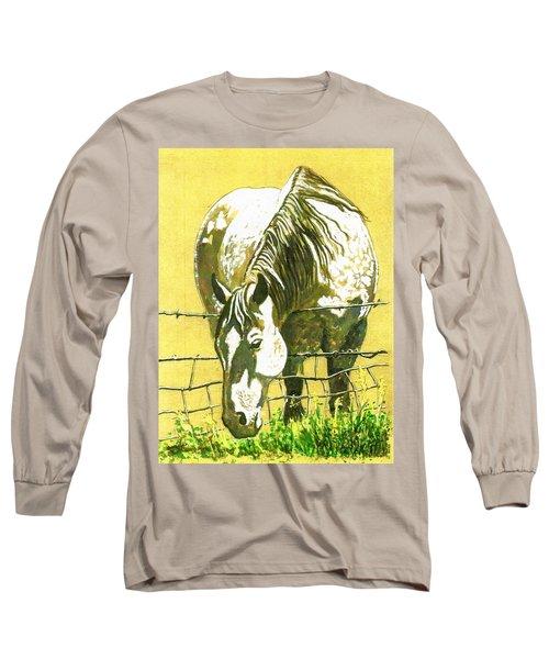 Yellow Horse Long Sleeve T-Shirt