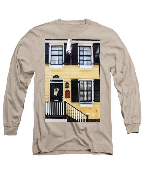 Yellow House Long Sleeve T-Shirt