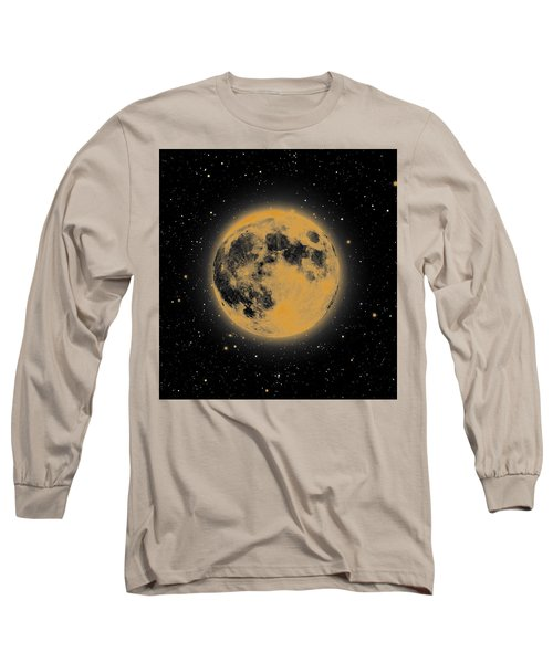 Yellow Moon Long Sleeve T-Shirt