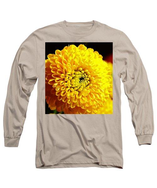 Yellow Mum Long Sleeve T-Shirt