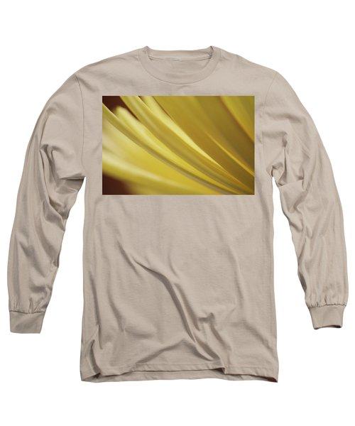 Yellow Mum Petals Long Sleeve T-Shirt