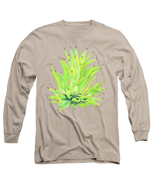 Yellow Octopus Agave Long Sleeve T-Shirt