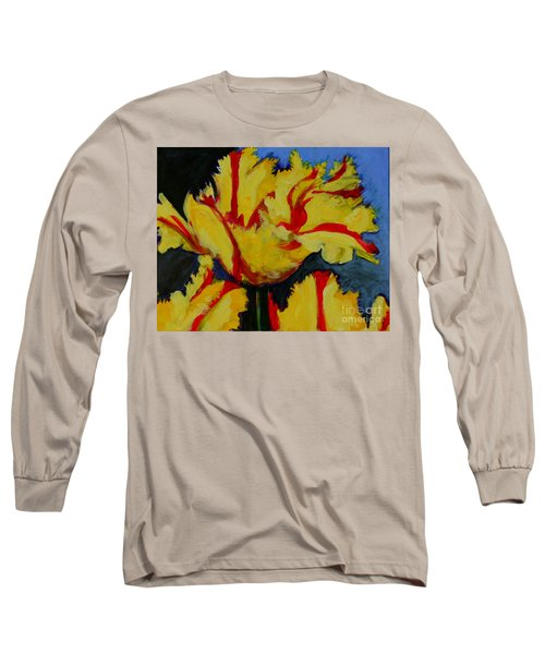 Yellow Parrot Long Sleeve T-Shirt