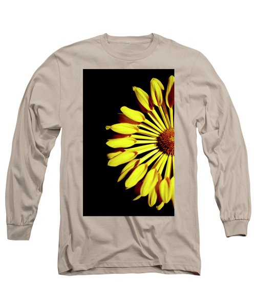 Yellow Petals Long Sleeve T-Shirt