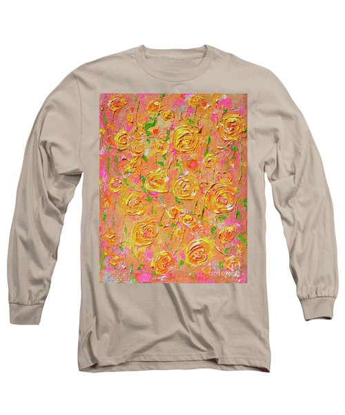 Yellow Roses Of Texas Long Sleeve T-Shirt