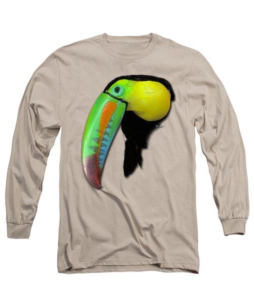 Yellow Toucan Long Sleeve T-Shirt