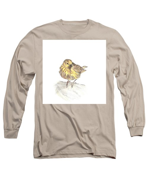 Yellow Warbler Long Sleeve T-Shirt