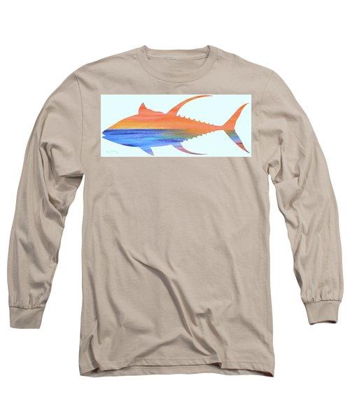 Yellowfin Sunset Beach Long Sleeve T-Shirt