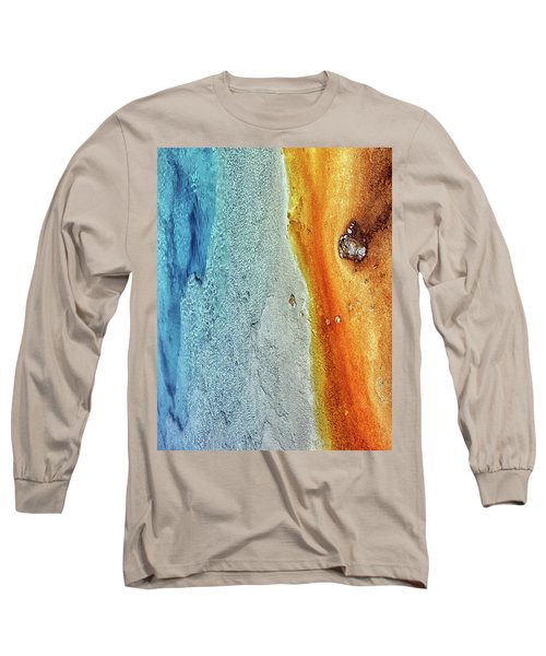 Yellowstone Abstract Long Sleeve T-Shirt