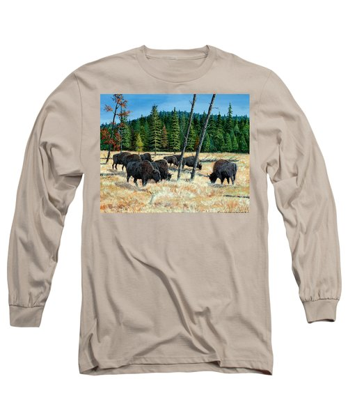 Yellowstone Grazers Long Sleeve T-Shirt
