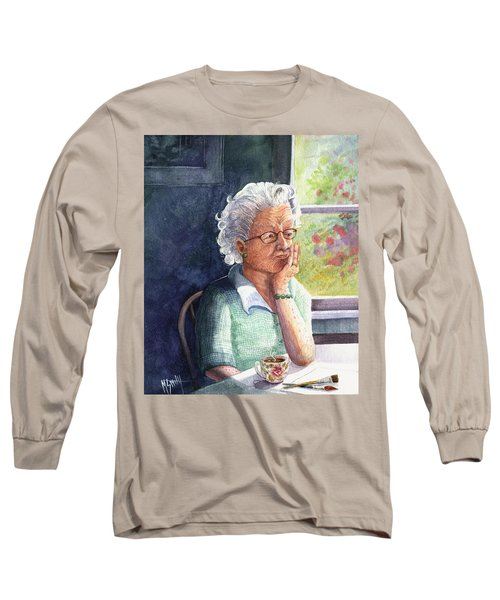 Long Sleeve T-Shirt featuring the painting Yesterday's Gone by Marilyn Smith
