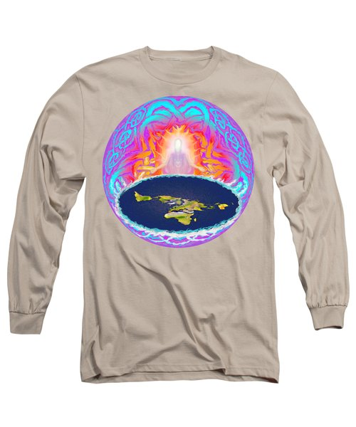 Yhwh Creation Long Sleeve T-Shirt by Hidden Mountain