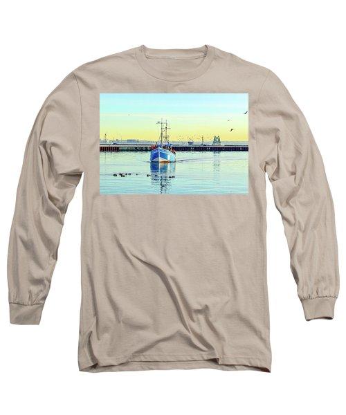 Yield For Ducks Long Sleeve T-Shirt