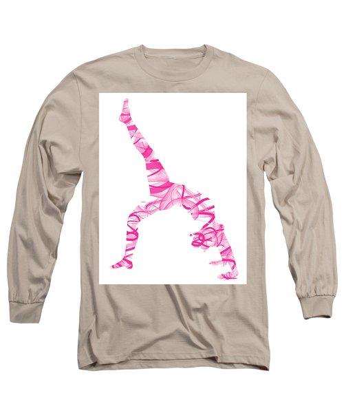 Yoga Pose Fine Art One-legged Long Sleeve T-Shirt