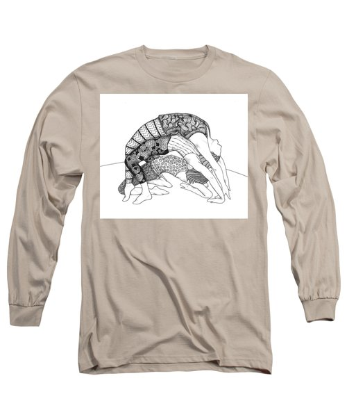 Yoga Sandwich Long Sleeve T-Shirt by Jan Steinle