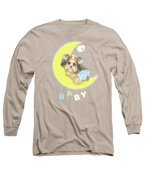 Yorkie Fofa Baby Long Sleeve T-Shirt