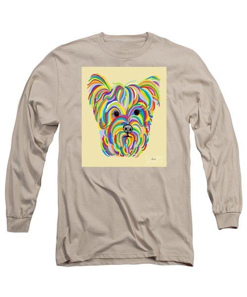 Yorkshire Terrier ... Yorkie Long Sleeve T-Shirt by Eloise Schneider