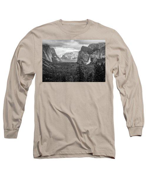 Yosemite View 38 Long Sleeve T-Shirt by Ryan Weddle