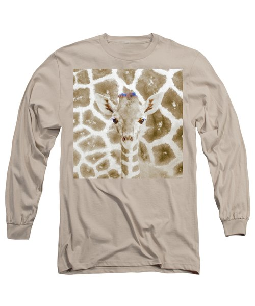 Young Giraffe Long Sleeve T-Shirt