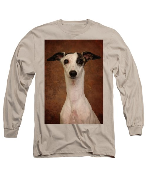 Young Whippet Long Sleeve T-Shirt by Greg Mimbs