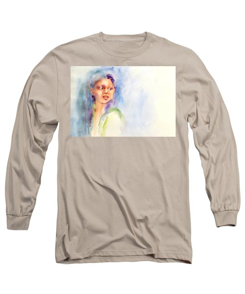Young Woman Long Sleeve T-Shirt