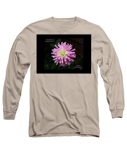 Your Breath Touched My Soul Long Sleeve T-Shirt