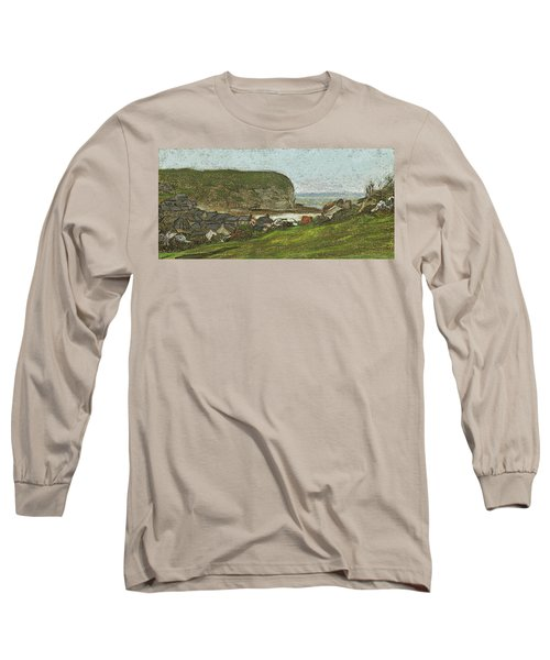 Yport And The Falaise D'aval Long Sleeve T-Shirt