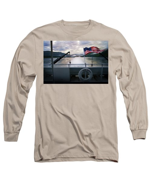 Long Sleeve T-Shirt featuring the photograph Yukon Queen by Ann Lauwers