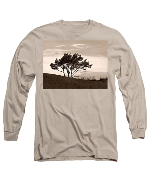 Long Sleeve T-Shirt featuring the photograph Yyteri Evening by Jouko Lehto