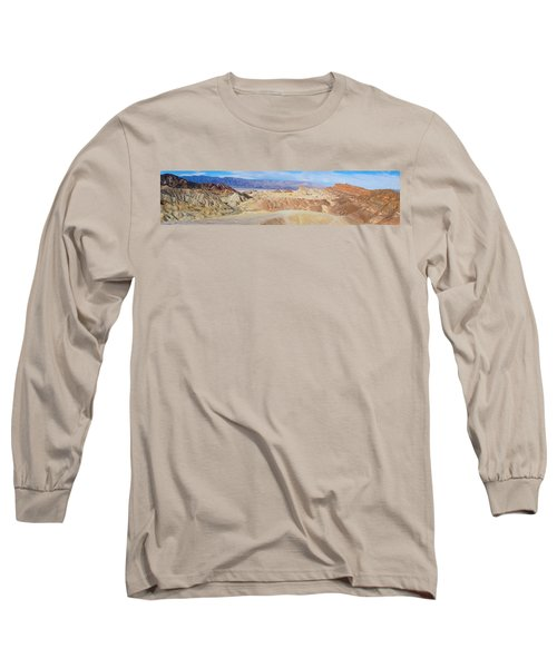 Zabriski Point Panoramic Long Sleeve T-Shirt