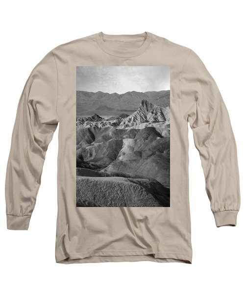 Zabriskie Point Portrait Long Sleeve T-Shirt