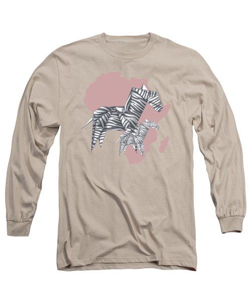 Zebras Long Sleeve T-Shirt