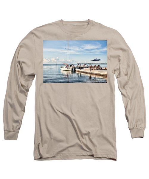 Long Sleeve T-Shirt featuring the photograph Zen Say by Lawrence Burry