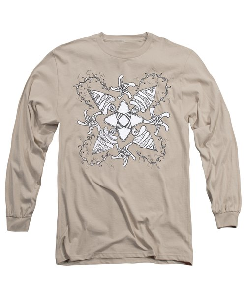 Zendala On The Beach Long Sleeve T-Shirt