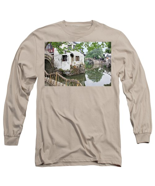 Zhouzhuang - A Watertown Long Sleeve T-Shirt