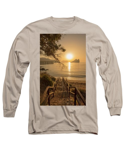 Access To The Beach At Dawn Long Sleeve T-Shirt