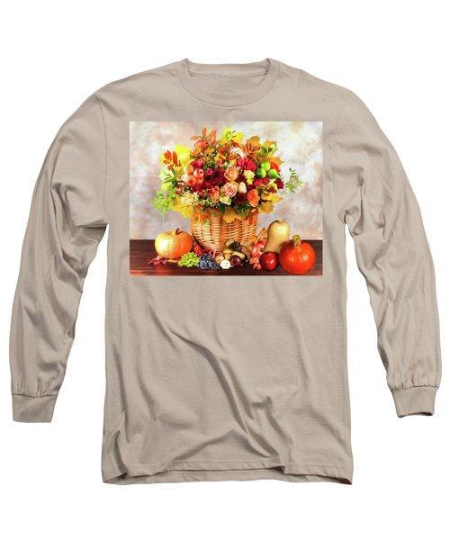 Autum Harvest Long Sleeve T-Shirt