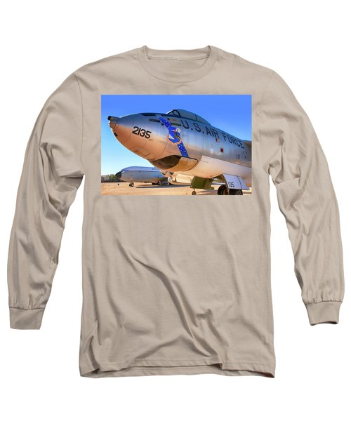 Boeing B47 Sac Bomber Long Sleeve T-Shirt