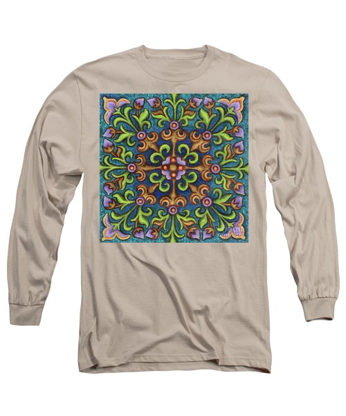 Botanical Mandala 8 Long Sleeve T-Shirt